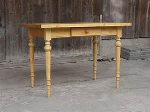 Esstisch Tisch Massivholz Fichte 120 x 80 cm mit