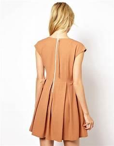 mademoiselle tara mademoiselle tara robe avec jupe With robe avec fermeture éclair dans le dos