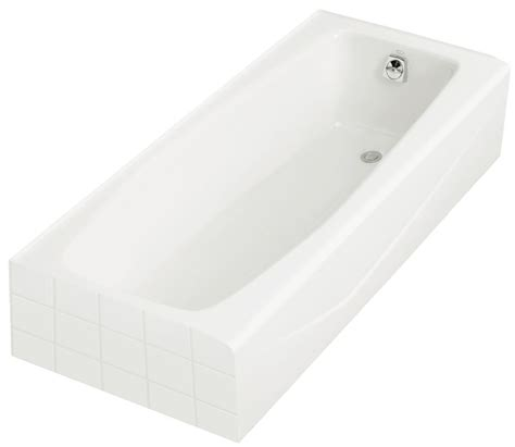 Kohler Villager Bathtub Specs by Kohler Villager 5 Cast Iron Drop In Non Whirlpool