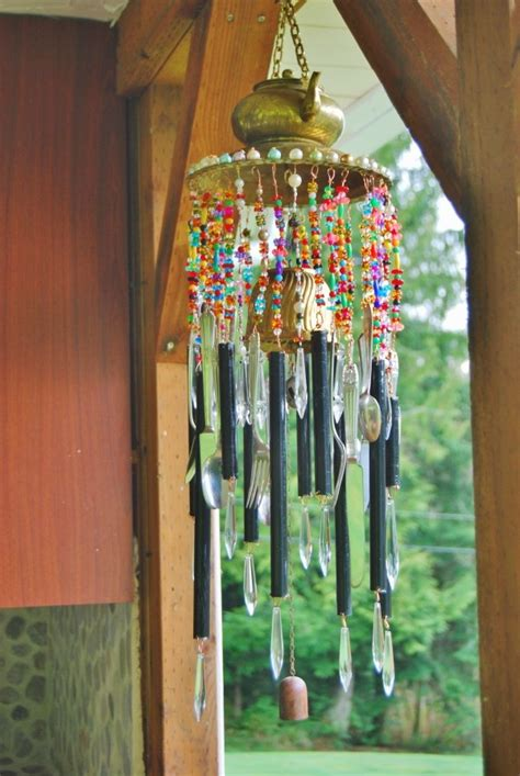 recycled moroccan windchime thriftyfun