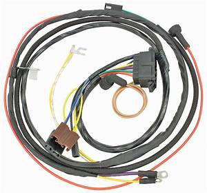 M U0026h 1967 Chevelle Engine Harness 396 W  Gauges   Opgi Com