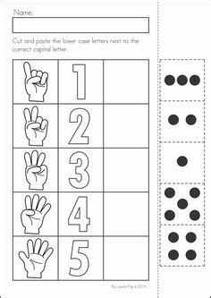 number concepts 1 20 worksheets teaching preschool and kid