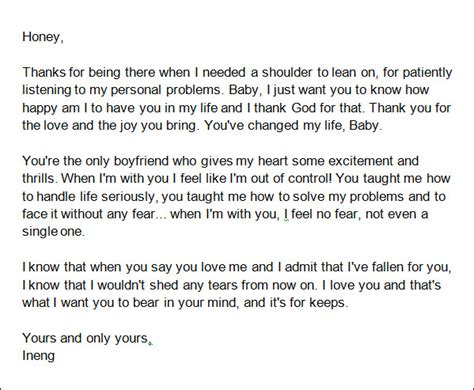 a letter to my boyfriend on our one year anniversary 15 samples of letters to boyfriend