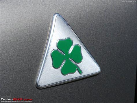 Alfa Romeo Symbol by The Alfa Romeo Cloverleaf Logo What Does It Team Bhp