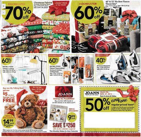 jo ann fabric black friday  sale deals ads