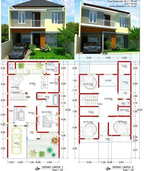 desain rumah ukuran  kamar  rumah xy