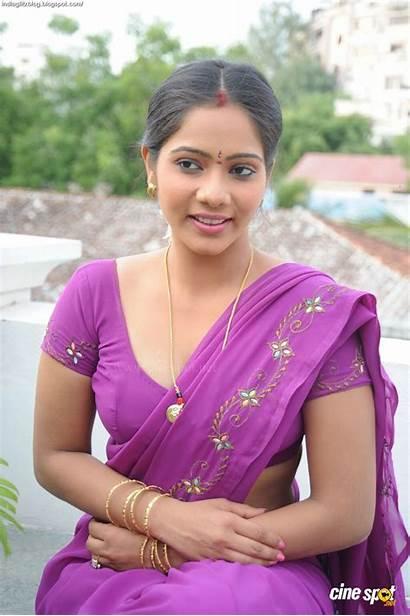 Aunty Side Desi Indian Saree Mithra Actress