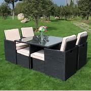 Garden Dining Sets Asda by Rattan Garden Furniture Cube Dining Set Palma Corner Set Casual Dining Gard