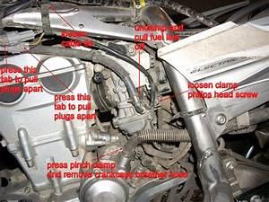 Yamaha  How To Remove Yfz450 Carburetor