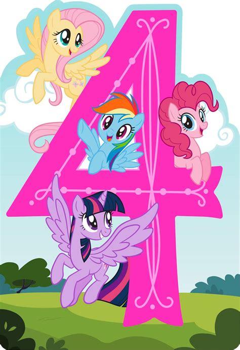 pony happy spirit musical  birthday card