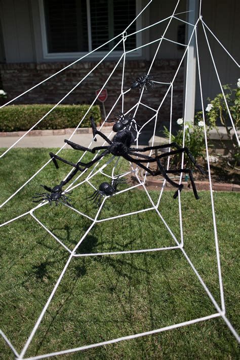 How To Decorate With Spider Web - spider web decoration spider decor