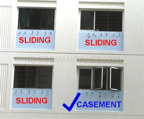 sliding windows  casement windows feng shui tips guidelines fengshuigeomancynet