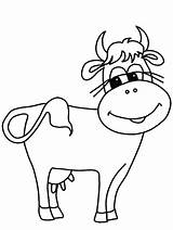 Cow Coloring Pages sketch template