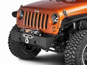 Rugged Ridge Jeep Wrangler Xhd Winch Front Bumper 11540 08
