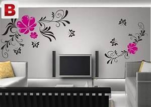 L c d living room wall paint designs lahore