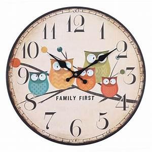 Grande Horloge Murale Originale : charmant horloge de cuisine originale 4 la grande horloge murale en photos digpres ~ Teatrodelosmanantiales.com Idées de Décoration