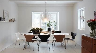 Dining Table Scandinavian Danish Modern Interior Chairs