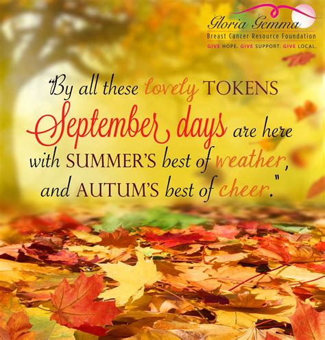Have a happy September! We're so happy that fall is around ...