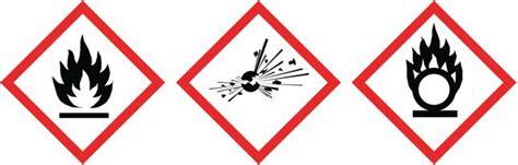 physical hazards flammable explosive oxidizing