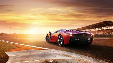Ferrari 458 Concept Car, Hd Cars, 4k Wallpapers, Images