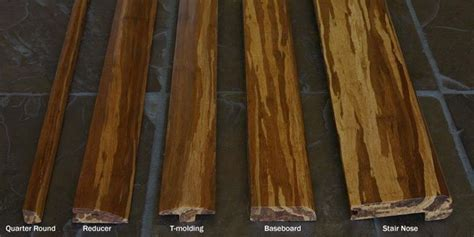 Bamboo Flooring Trim   Threshold   Baseboard   Wall Base