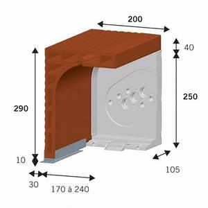 Lame En Composite Pour Terrasse #16 Caisson Demi Linteau Brique Type CL Pour Volet Roulant EVTOD