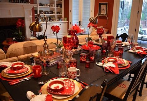 christmas party table decoration ideas easyday