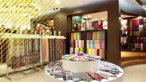 alisha fancy shop toko busana muslim  bandung youtube