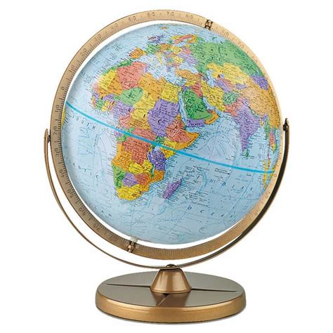 world globe l pioneer globe by replogle with free shipping and low prices