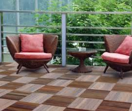 Deck Tiles Lowes lay patio and balcony with wooden tiles use wood tiles