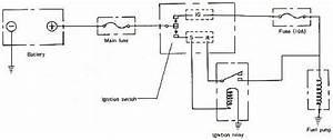 Mazda 929 Fuel Pump Circuit Diagram