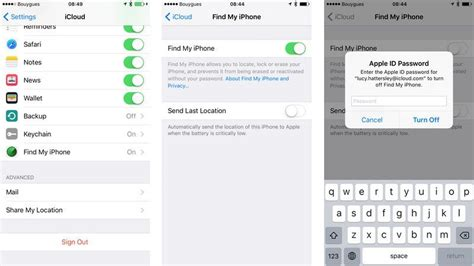 how to find your iphone how to turn find my iphone remove iphone mac