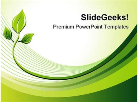 eco background nature powerpoint templates  powerpoint