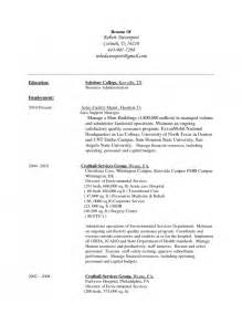 resume format for hospital environmental services technician resume