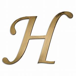 individual script letters wall decor letter h With individual alphabet letters