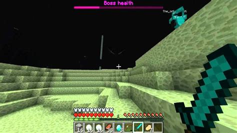 lets play minecraft ender dragon fight youtube