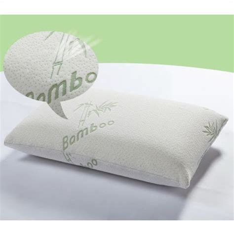 feel my bamboo pillow new 2pcs bamboo pillow memory foam king size improved