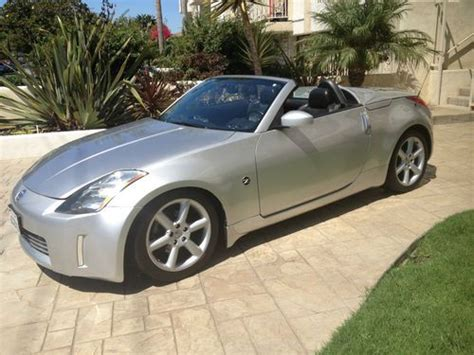 Find Used 2004 Nissan 350z Touring Convertible 2-door 3.5l