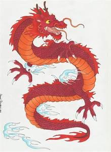 Traditional Japanese Dragon by DarkDemonWolf on DeviantArt