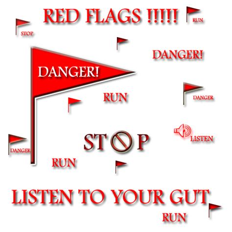 Ten Dating Red Flags