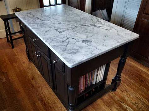 kitchen island marble top kitchen island