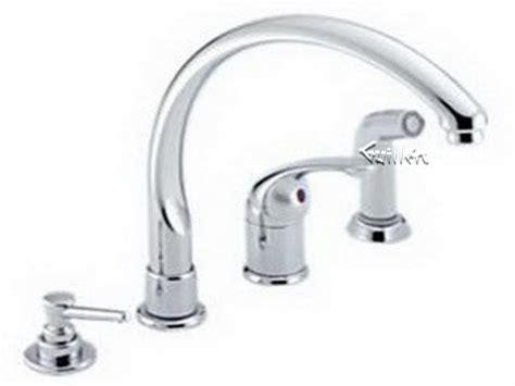 3 Hole Kitchen Faucet Delta