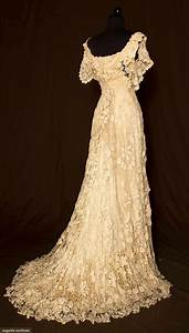 vintage hand crochet wedding dress wedding ideas With old wedding dress