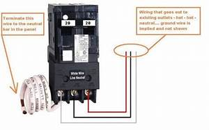 How To Wire 240v Circuit Breaker