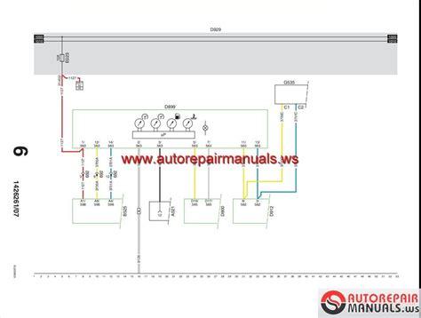 daf truck repair manual wiring schematic auto repair