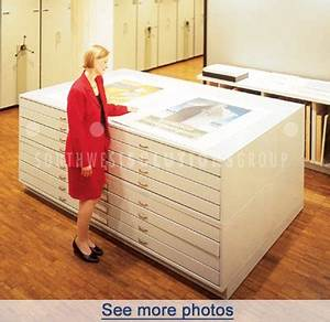 Flat File Drawer Cabinets Map Cabinets Plan Drawing