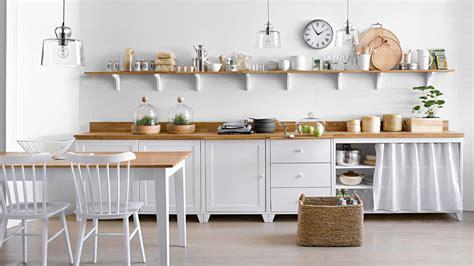 etagere de rangement cuisine les étagères ouvertes dans la cuisine pour ou contre