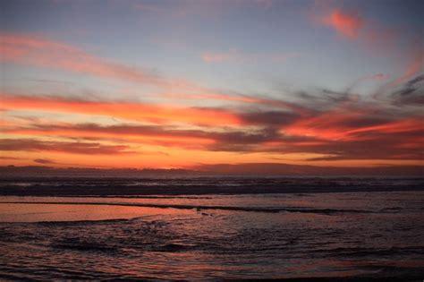 coucher de soleil plage californie photo gratuite sur