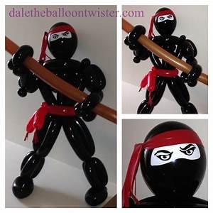 Advanced Ninja Figure DALE THE BALLOON TWISTER