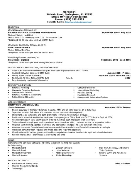 Resume Summary Exles Entry Level by Entry Level Business Analyst Resume Printable Planner